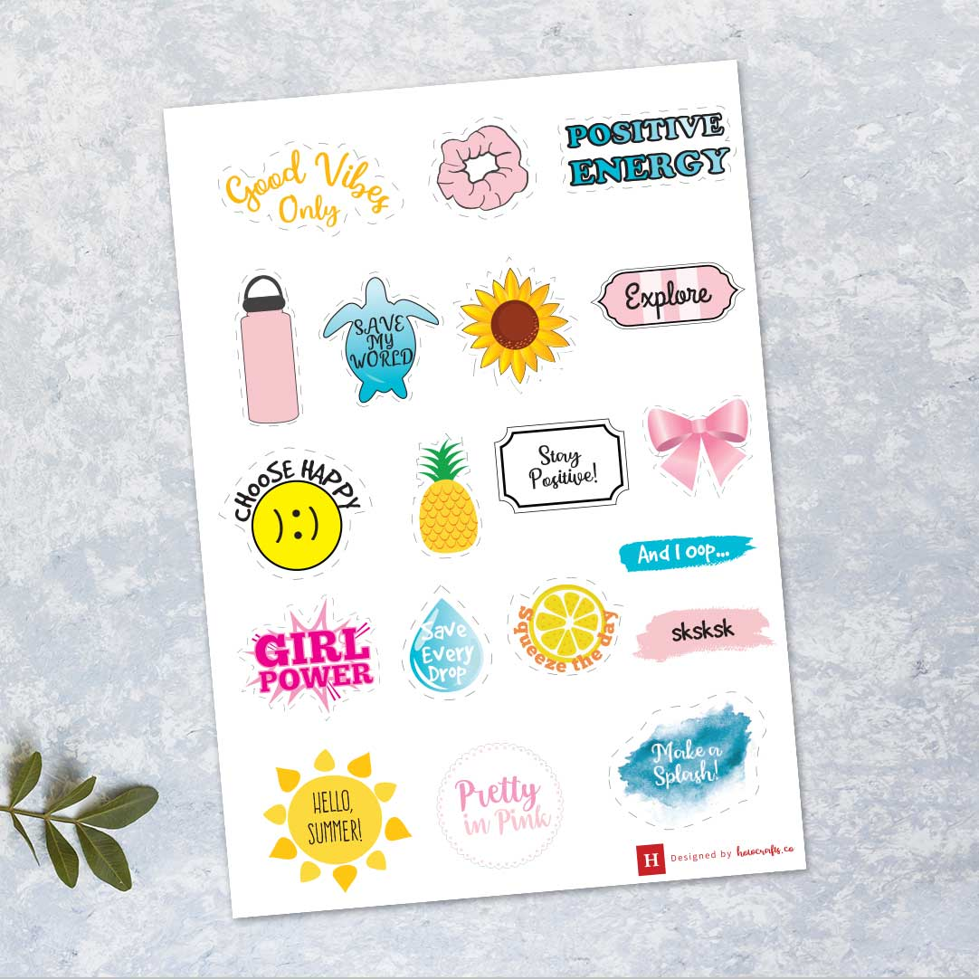 Vsco Stickers Printable Howcrafts Co