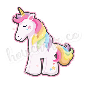 Unicorn stickers for iPhone