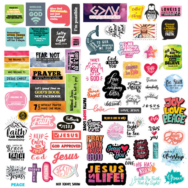 Christian Stickers