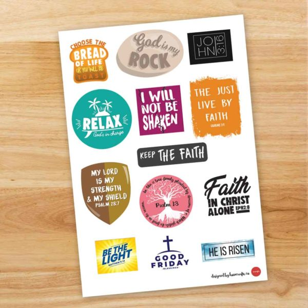 Free Christian Stickers