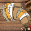 Mason Jar Tags, Labels, Gift Tag, Packaging, Country, Barn Wedding, Label, Pocket Letters, Wedding Tags, Party Tag, Drink, Beverage